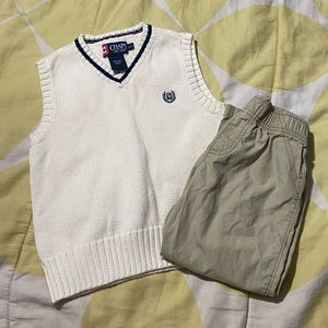 3t Matching boys outfit